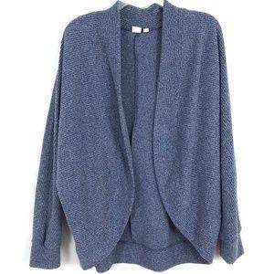 GAP cocoon wrap cardigan open front knit jacket